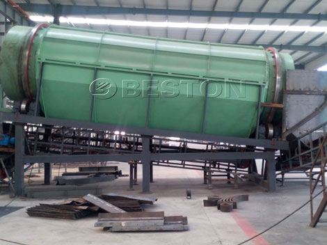 Solid Waste Management Sorting Machine